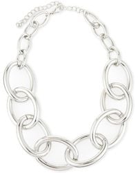Kenneth Jay Lane Chainlink Necklace - Lyst