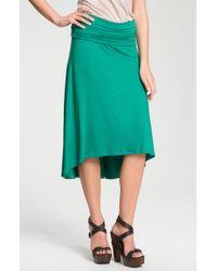 Olivia Moon Midi Skirt - Lyst