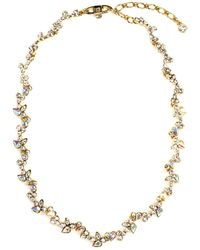 Givenchy Crystal Collar Necklace - Lyst