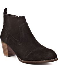 DV by Dolce Vita Jamison Suede Ankle Boots - Lyst