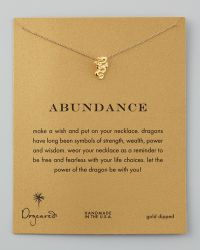 Dogeared - Dragon Necklace - Lyst