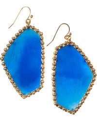 Kendra Scott Hutton Drop Earrings  - Lyst