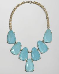 Kendra Scott - Harlow Necklace Turquoise - Lyst