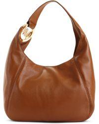 Michael Michael Kors Fulton Medium Shoulder Bag Brown 92