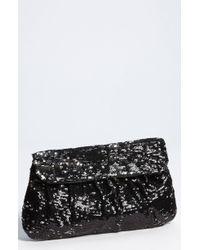 Natasha Couture Sequin Clutch - Lyst