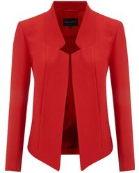 Pied A Terre Notch Detail Coat - Lyst
