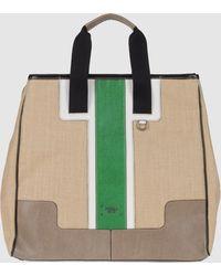 Furla - Large Fabric Bag - Lyst