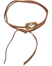 Halaby - Cut Glass Bracelet - Lyst