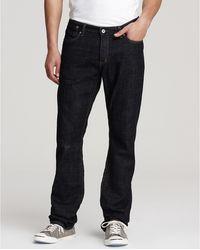 John Varvatos Star USA Bowery Slim Straight Leg Jeans - Lyst