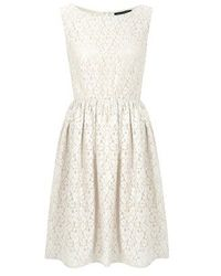 French connection Fast Twinkle Lace Dress - Lyst