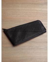 Damir Doma - Damir Doma Mens Long Shark Leather Wallet - Lyst
