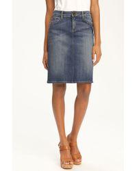 Kut From The Kloth | 5pocket Denim Skirt | Lyst