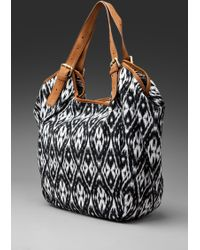 Twelfth Street by Cynthia Vincent Berkeley Printed Canvas Tote - Lyst