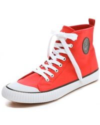 Cheap Monday - High Top Sneakers - Lyst