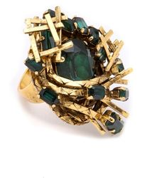 Erickson Beamon - Family Jewels Ring - Lyst