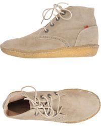 Kickers Hightop Dress Shoe - Lyst