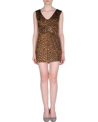 Lucy In Disguise Short Dress - Lyst