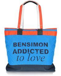 Bensimon Collection Love Line Nylon Tote Bag - Lyst