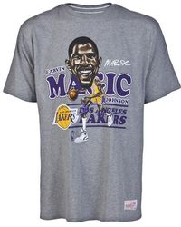 Mitchell & Ness - Magic Johnson Fit Tshirt - Lyst