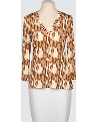 Just Cavalli Long Sleeve T-Shirt - Lyst
