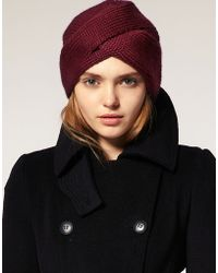 ASOS Collection Asos Slot Through Turban - Lyst