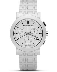 Burberry Chronograph Watch 40mm - Lyst