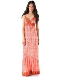 Twelfth Street Cynthia Vincent Empire Maxi Dress - Lyst