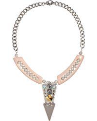 Fenton - Crystal Raleigh V Bib Necklace - Lyst