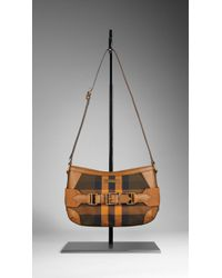 Burberry Small Vintage House Check Crossbody Bag - Lyst