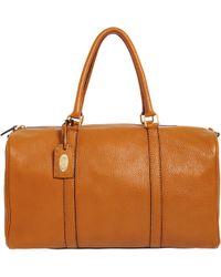 Fendi Selleria Medium Boston Bag - Lyst