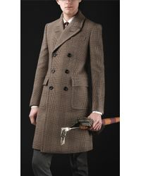 Burberry Prorsum Wool Tailored Chesterfield Coat - Lyst