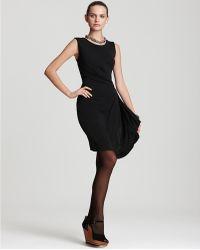 DKNY - C Faux Wrap Dress - Lyst