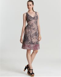 Marc By Marc Jacobs Sleeveless Dress Solstice Print - Lyst