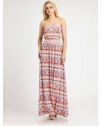 Rachel Pally Talmadge Printed Dress - Lyst