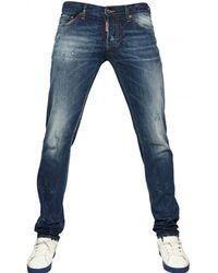 DSquared² 19cm Slim Fit Denim Jeans - Lyst