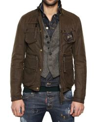 DSquared² Mixed Fabric Triple Layer Boobou Jacket - Lyst