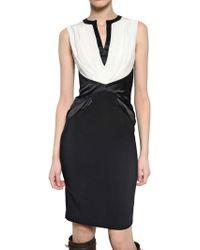 Givenchy Satin On Stretch Viscose Cady Dress - Lyst