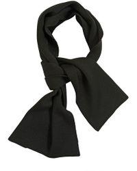 Kris Van Assche - Ribbed Knit Wool Scarf - Lyst