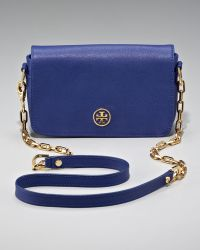 Tory Burch Robinson Chain Bag Mini - Lyst