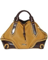 Burberry Prorsum - Medium Earlsburn Leather Top Handle - Lyst
