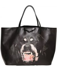 Givenchy Large Antigona Rottweiler Pvc Tote black - Lyst