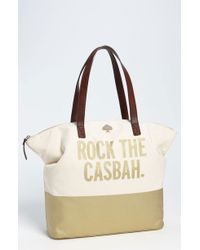 Kate Spade Call To Action Terry Tote - Lyst
