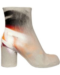Maison Margiela Tabi Cement Limited Edition Boots - Lyst