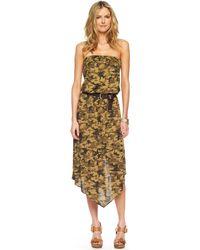 MICHAEL Michael Kors Camouflage Shift Dress - Lyst