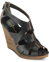 Cole Haan Air Kimrey Wedge Sandals - Lyst