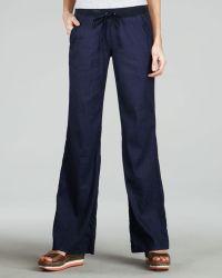 Joie Linen Drawstring Pants - Lyst