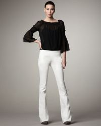 Theory Flared Jeans - Lyst