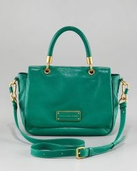 Marc By Marc Jacobs Too Hot To Handle Small Satchel green - Lyst