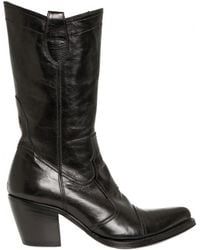 Gianni Barbato - 70mm Leather Boots - Lyst