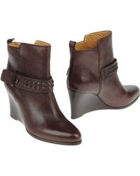 Barbara Bui Ankle Boots brown - Lyst